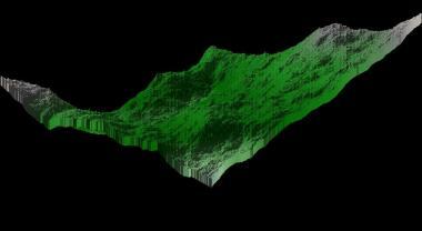 Diamond Square Algorithm render 10