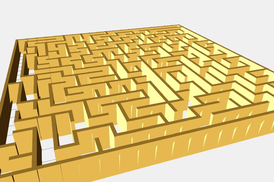 Maze 3D  Experimenting with THREE js – David's code vault